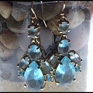 Kate Spade Transparent Blue Beauties! Never worn!